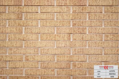 Кладка из облицовочного кирпича Mattone «Латерра Пшеница» 0,8НФ